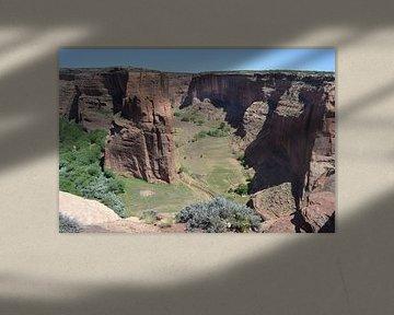 Amerika, Arizona, Canyon de Chelly van Bernard van Zwol