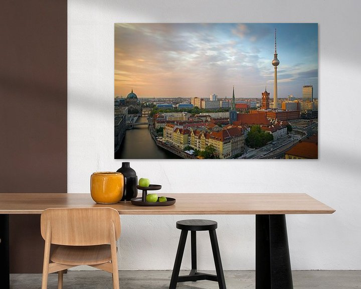 Beispiel: Skyline Berlin von Heiko Lehmann