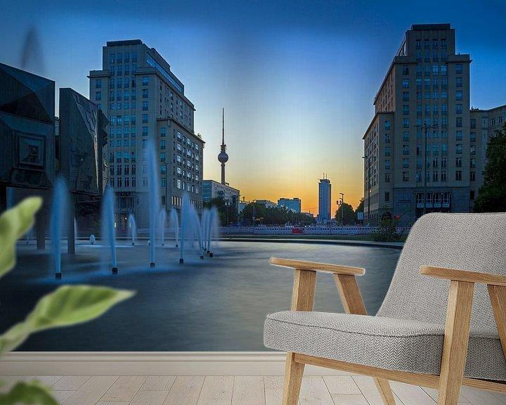 Beispiel fototapete: Strausberger Platz Berlin von Heiko Lehmann