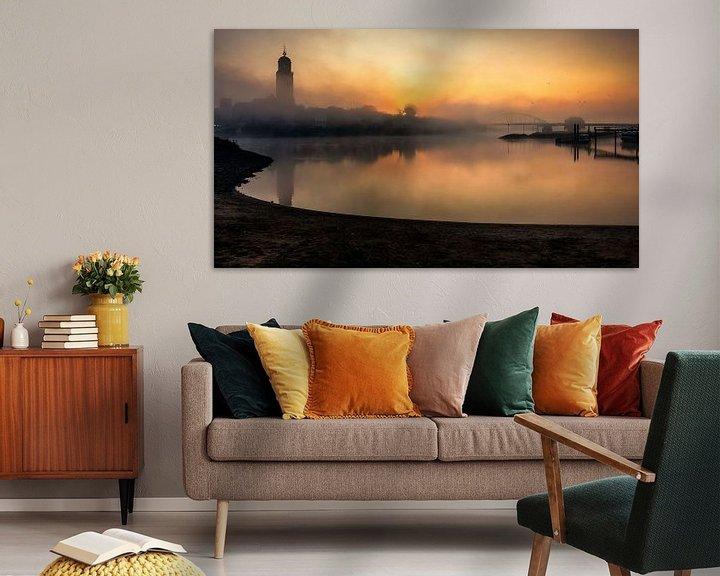 Sfeerimpressie: Misty sunrise van Patrick Rodink