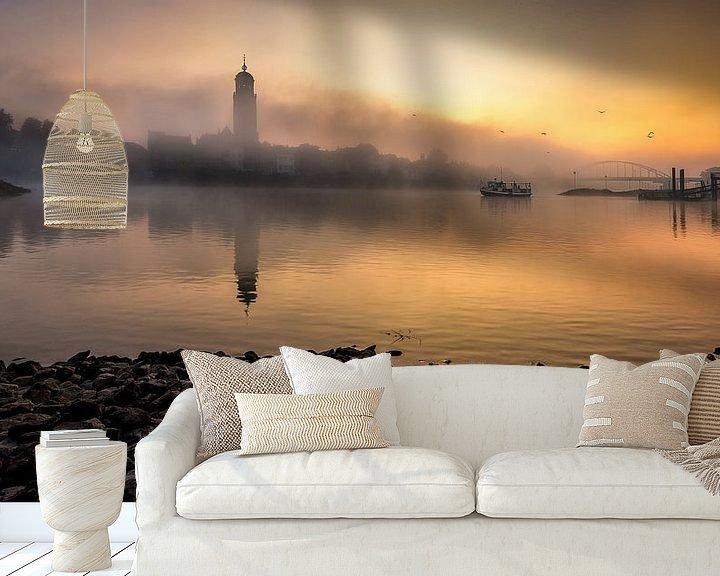 Sfeerimpressie behang: De Worp Deventer van Patrick Rodink