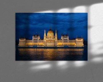 Parlement gebouw Boedapest von Peter Laarakker