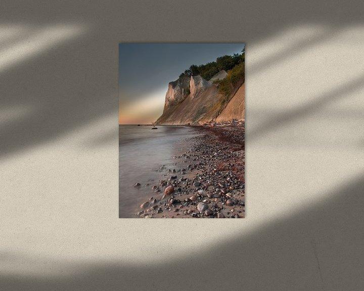 Impression: Les falaises de Møns Klint sur Daniel Van der Brug