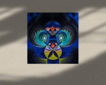 Phantasievolle abstrakte Twirl-Illustration 131/3 von PICTURES MAKE MOMENTS