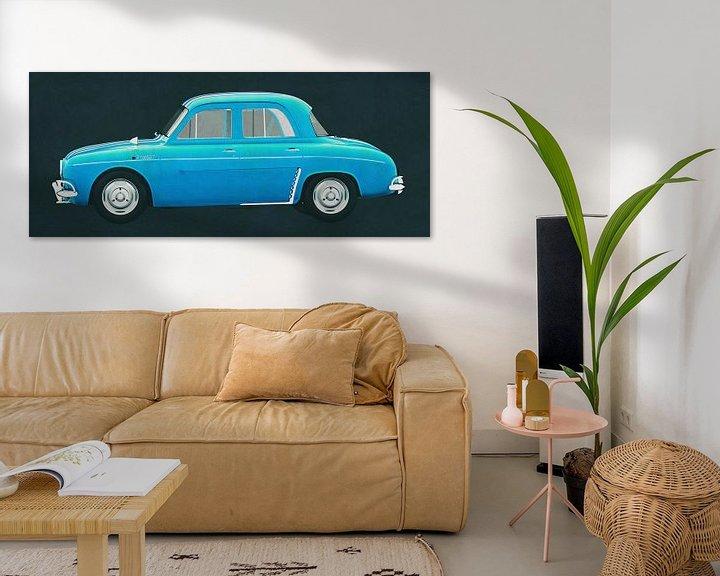 Sfeerimpressie: Renault Gordini Dauphine 1957 van Jan Keteleer
