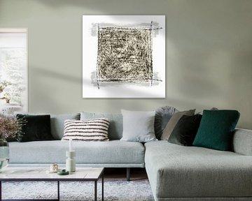 Quadrat mit Widerhaken von Dray van Beeck