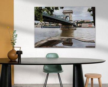 Budapest Kettenbrücke von Frank Herrmann