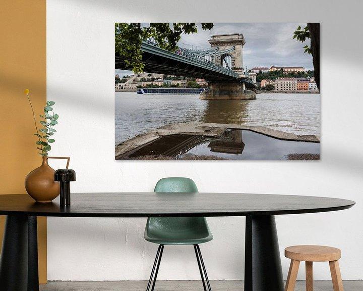 Impression: Pont en chaîne de Budapest sur Frank Herrmann