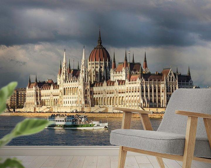 Impression: Bâtiment du Parlement à Budapest sur Frank Herrmann