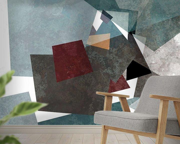 Sfeerimpressie behang: Ontwerp IX van Andreas Wemmje