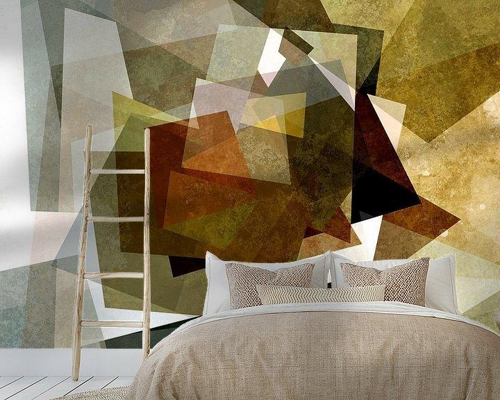 Sfeerimpressie behang: Ontwerp X van Andreas Wemmje