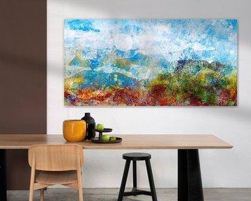 Abstrakte Landschaft von Lida Bruinen