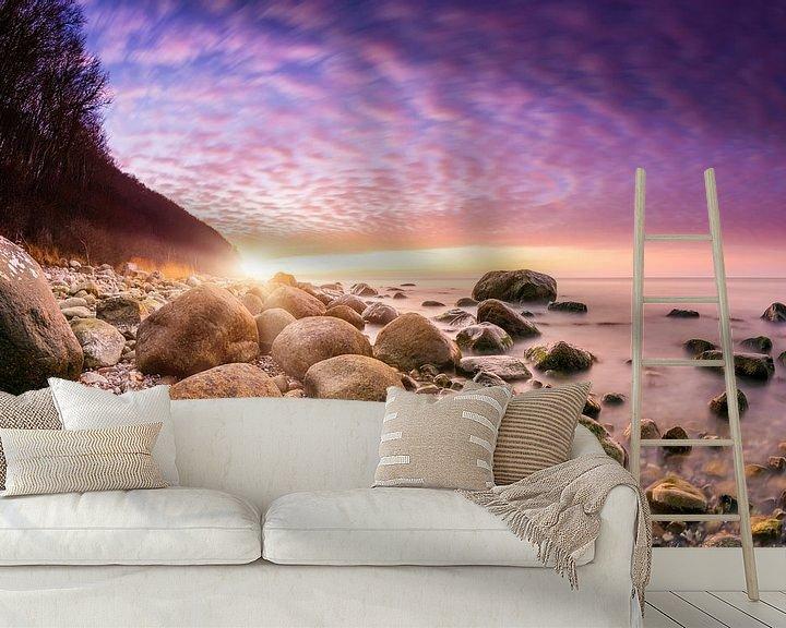 Beispiel fototapete: Sonnenuntergang auf Rügen von Günter Albers