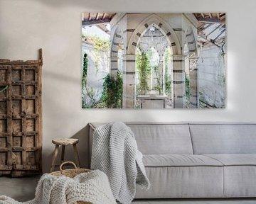 Weiße Wände von Hidden Histories