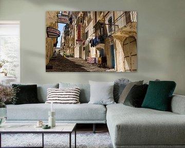 Straßenszene 1 (Malta) von Bart Stappers