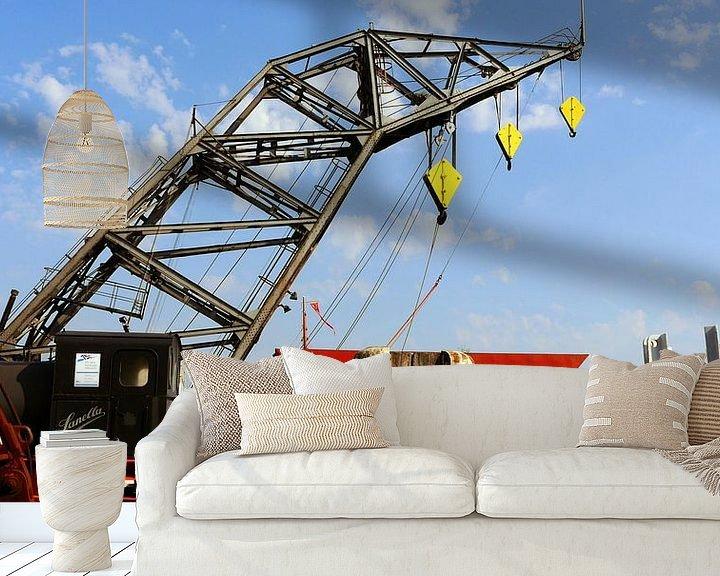 Sfeerimpressie behang: In de haven van Peter Norden