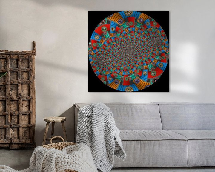 Sfeerimpressie: Tweelingen Spiraal van Trappen en Cirkels van Tis Veugen