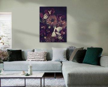 Orchideeën en chrysanten