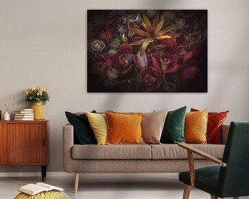 Gelbe Blume von Marina de Wit