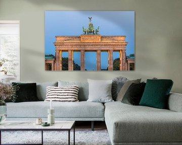 Zonsopkomst bij de Brandenburger Tor