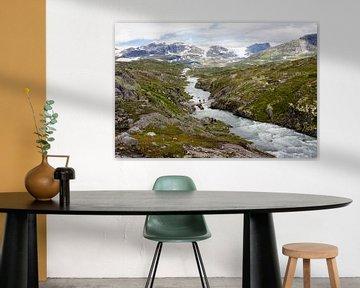 Gletsjer zicht van Greetje Heemskerk