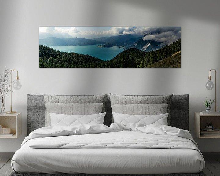 Beispiel: Panorama vom Walchensee von Alexander Dorn