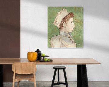 Porträt der Krankenschwester Nelly, Jan Toorop