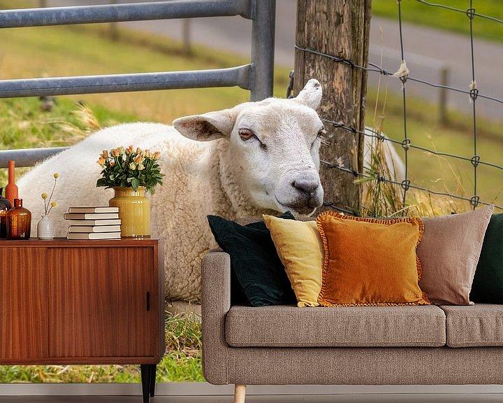 Impression: Moutons sur Angela Dölling