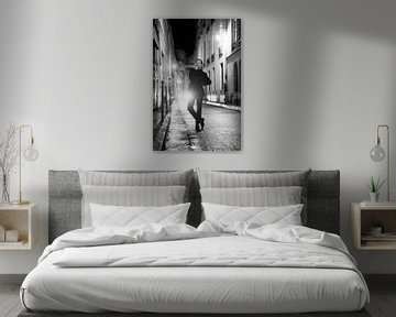 Rue Aubriot in Paris Nachtaufnahmen von Anouk Boonstra