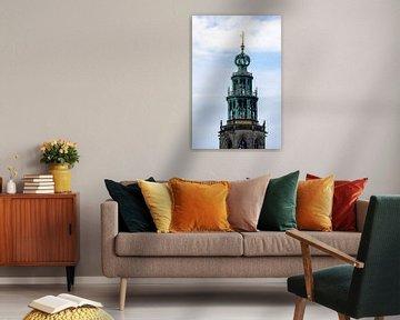 Martini-Turm in Groningen ( Farbe) von Eugenlens