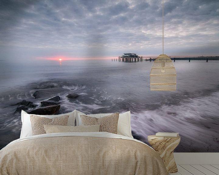 Beispiel fototapete: Sonnenaufgang Wolkenlos von Sebastian Holtz
