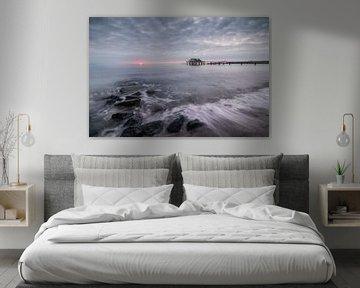 Sonnenaufgang Wolkenlos von Sebastian Holtz