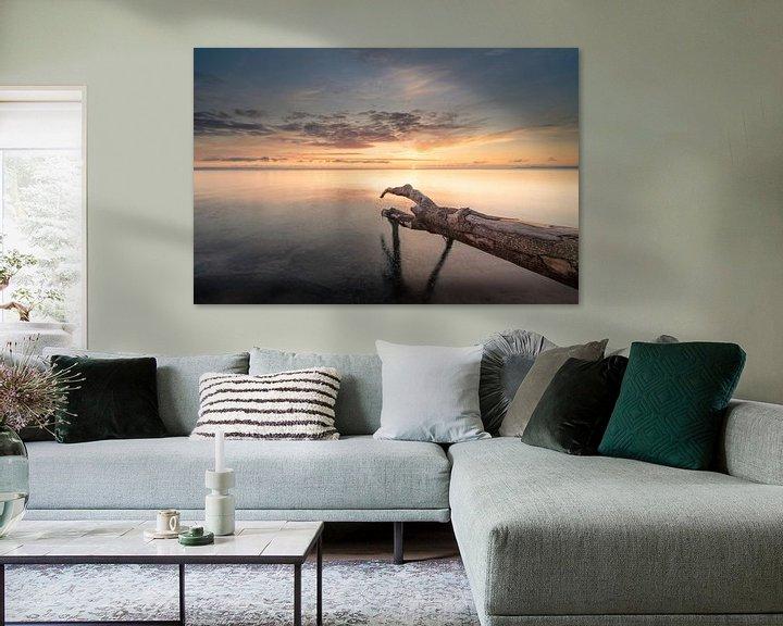 Beispiel: Sonnenaufgang über der Ostsee von Sebastian Holtz