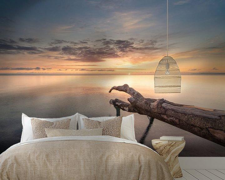 Beispiel fototapete: Sonnenaufgang über der Ostsee von Sebastian Holtz