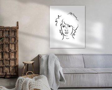 Porträt Mensch von Anne Schutte