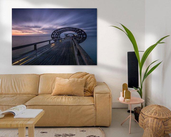 Beispiel: Seebrücke Kellenhusen von Sebastian Holtz