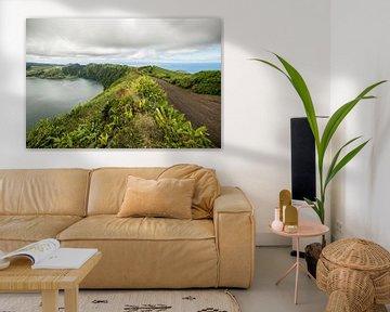 Uitzicht van Boca do Inferno, São Miguel, Azores, Portugal 3 van Ellis Peeters