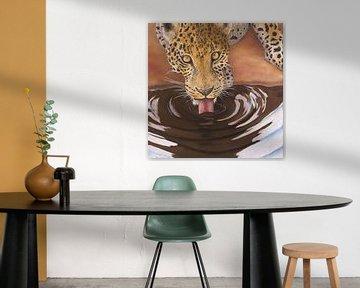 Leopard von Russell Hinckley