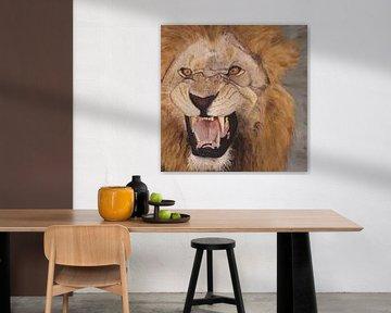 Löwe ( Löwe ) von Russell Hinckley
