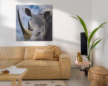 Nashorn von Russell Hinckley