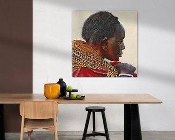 Samburu-Stammesfrau von Russell Hinckley