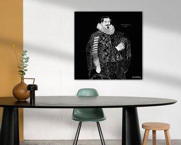 Porträt von Jacob Olycan von Zoë Hoetmer