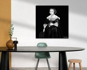 Porträt einer jungen Frau von Zoë Hoetmer