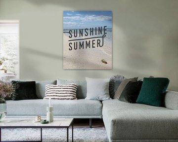 Sonnenschein Sommer Karibischer Strand