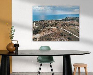 Akropolis Selinunte Sizilien von Ronnie Jilderda