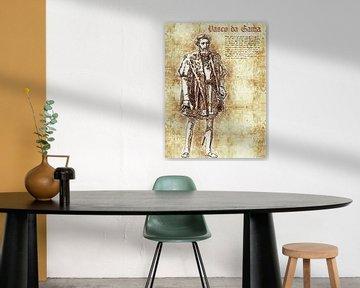 Vasco da Gama von Printed Artings