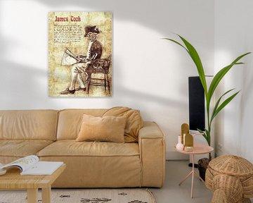 James Cook von Printed Artings