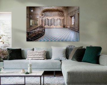 Verlaten Art Deco Kamer. van Roman Robroek