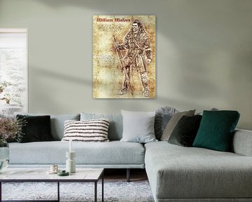 William Wallace van Printed Artings