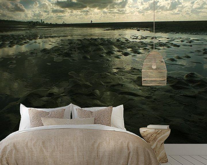 Sfeerimpressie behang: Heimzee van Atelier van Saskia